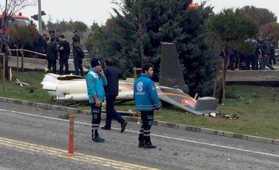 В Турции разбился вертолет с россиянами на борту, все погибли