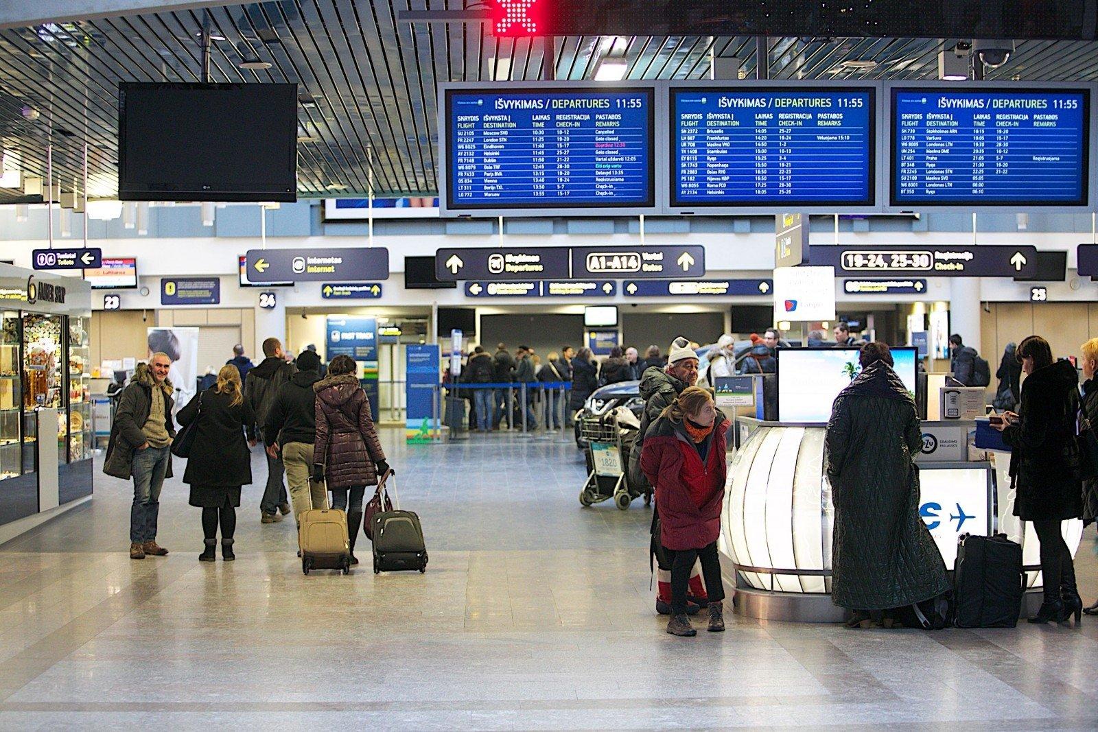 Литва сянваря начнет собирать данные обавиапассажирах