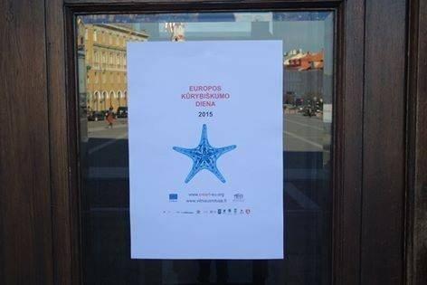 Vilniaus rotušėje – Europos kūrybiškumo dienos renginiai