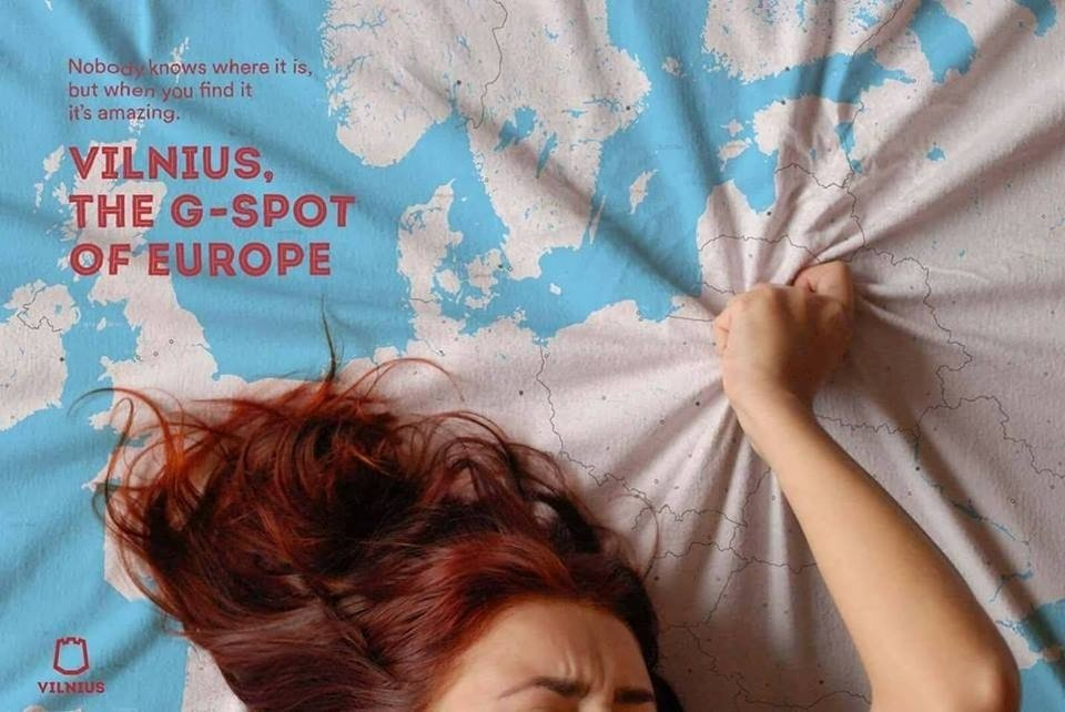Daring Vilnius ad goes viral, may become Lithuanian capital's