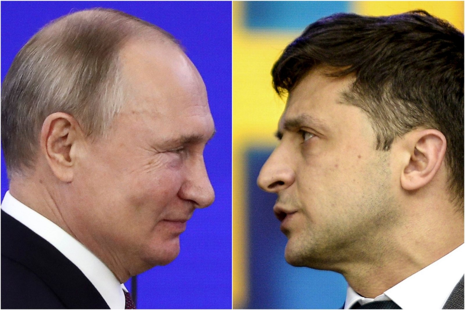 """Путин и Зеленский впервые провели встречу в формате """"один на один"""""""