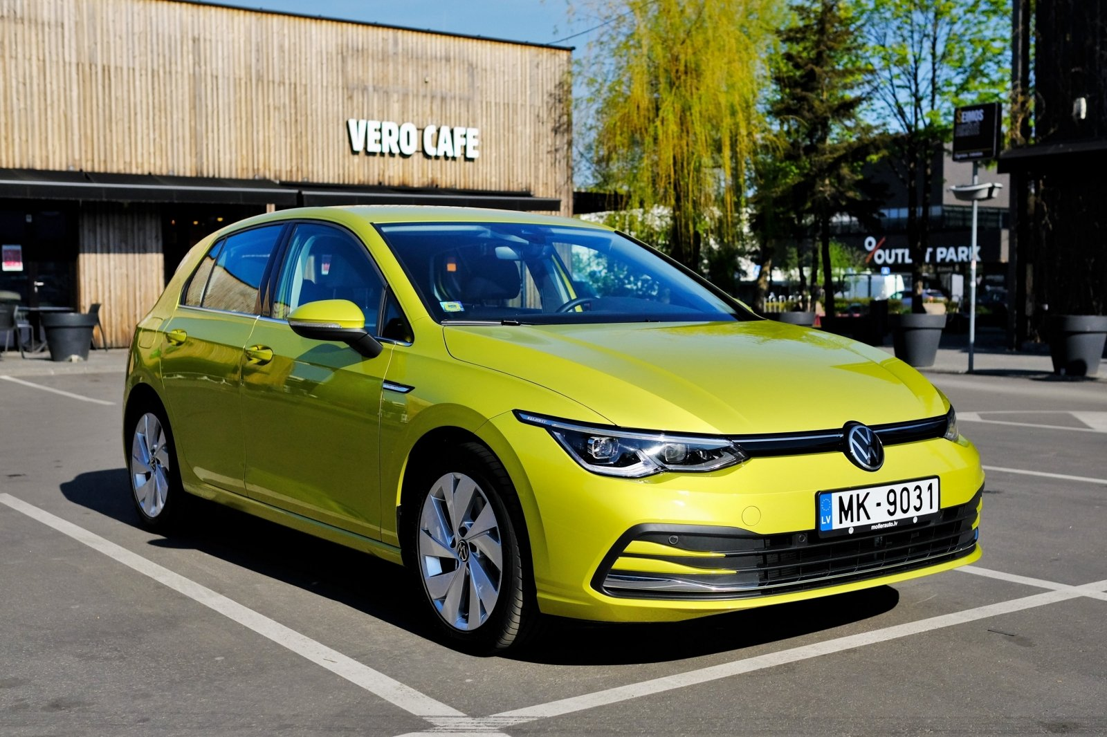 Naujo Volkswagen Golf testas: kiti atrodo beviltiškai pasenę