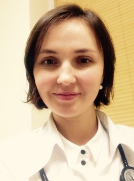 Kardiologė Jelizaveta Burca