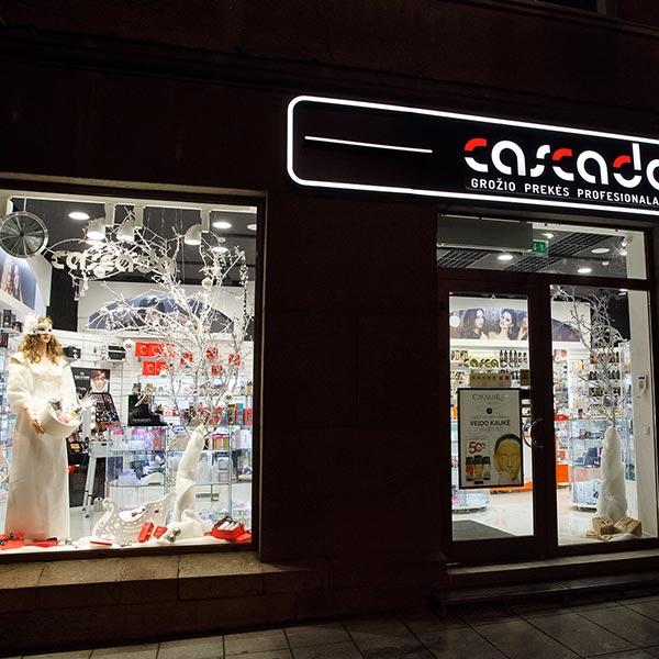 CASCADA parduotuvė,  Gedimino pr. 49