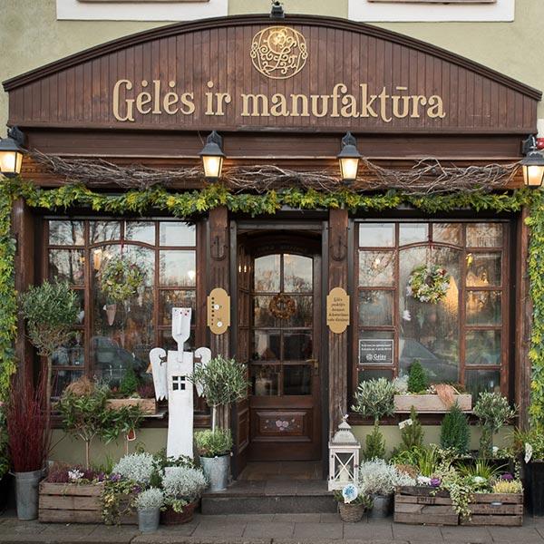 Gėlės ir manufaktūra,  Rūdininkų g. 11